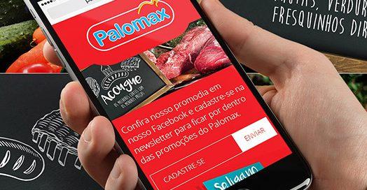 Site responsivo Palomax